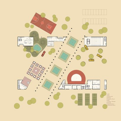 Project site plan