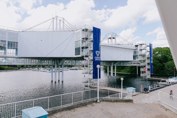 Ontario Place's pods