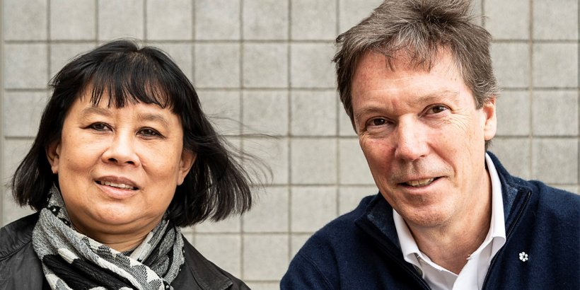 Brigitte Shim and Howard Sutcliffe