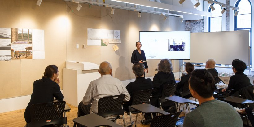 students present during daniels faculty reviews 2019