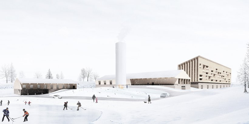 A rendering of Jonathan's site