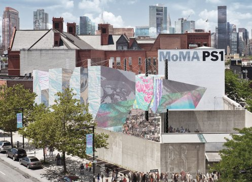 Lee and Macgillivray's MoMA PS1 entry Underberg