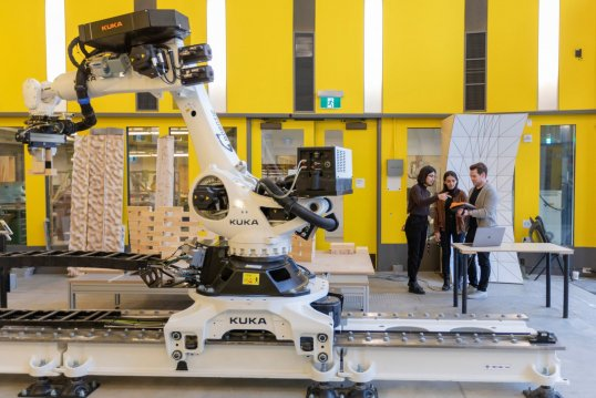 The Daniels Faculty's seven-axis robotic arm