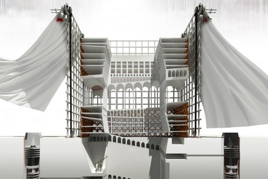 Master of Architecture student work