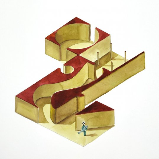 One of Avi's isometric drawings