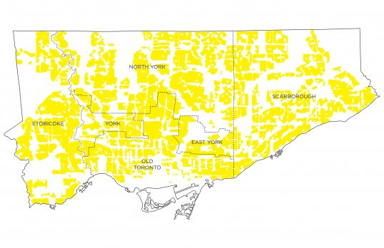 A map showing the Yellowbelt