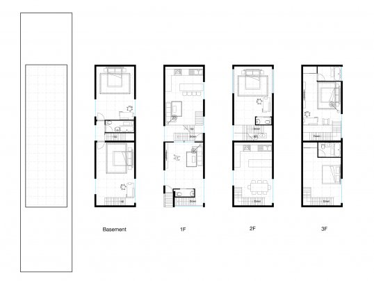 A plan of one of Celine's proposed housing units