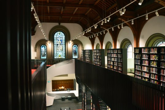 University College Library on U of T's St. George Campus renovated by Kohn Shnier