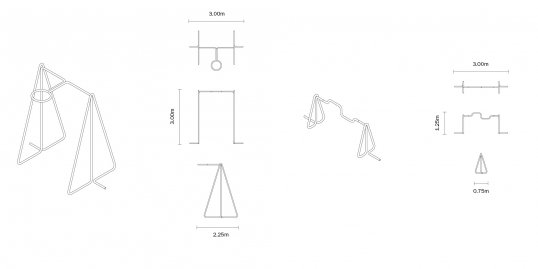 Exercise equipment made out of