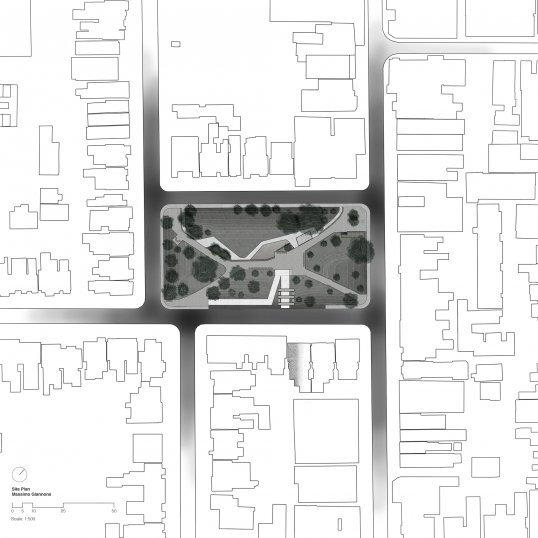 Massimo Giannone's site plan