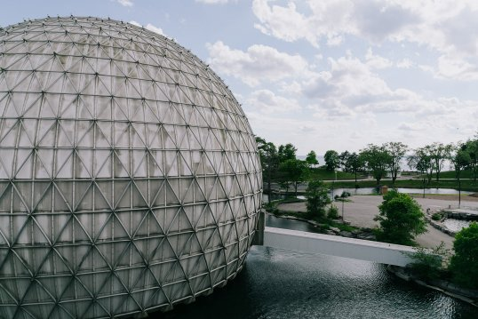 The Ontario Place Cinesphere
