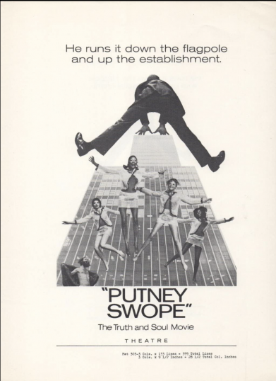 film poster for putney swope